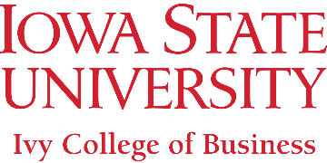 Iowa State University - Debbie and Jerry Ivy College of Business logo